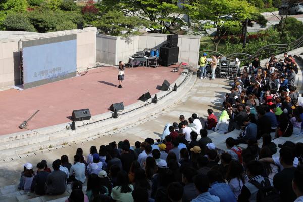 외국인 유학생의 K-Pop 열풍 - 부산과학기술대학교, 외국인 유학생 화합 페스티발 개최
