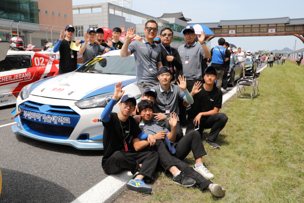 CJ대한통운 Super Race 참가 - 자동차공학계열 전공동아리팀 국내 최고 프로레이싱대회 출전